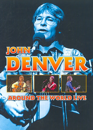 AROUND THE WORLD LIVE BY DENVER,JOHN (DVD)